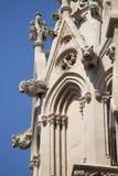 Palma de Mallorca大教堂面貌古怪的人  库存照片
