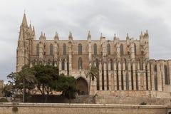 palma de mallorca собора стоковые изображения rf