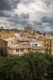 Palma de Mallorca avant une tempête Photographie stock