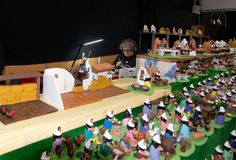 Miniature figurines royalty free stock photo