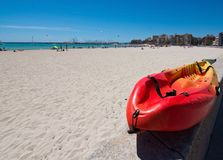 Kayak Playa de Palma Royalty Free Stock Photos