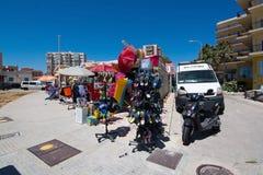 Souvenir shop Playa de Palma Royalty Free Stock Photography