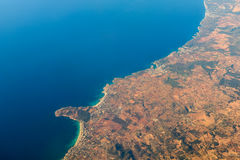 Palma de Mallorca And Balearic Sea Stockbilder
