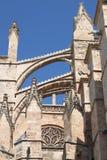 Palma de Mallorca cathedral royalty free stock photo
