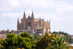 Palma de Mallorca Cathedral de la Seo Majorca royalty free stock photography