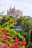 Palma de Mallorca Cathedral de la Seo Majorca Royalty Free Stock Images