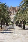 Palma de Mallorca cathedral Royalty Free Stock Images