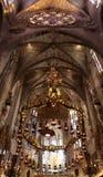 Palma de Mallorca Cathedral, Mallorca, Espanha Imagem de Stock