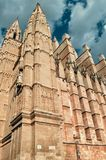 Palma de Mallorca Cathedral,. Spain Royalty Free Stock Photo