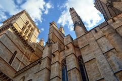 Palma de Mallorca Cathedral. Spain Royalty Free Stock Image