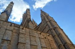 Palma de Mallorca Cathedral. Spain Royalty Free Stock Images