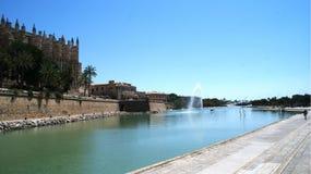 Palma de Mallorca, cidade espanhola fantástica Foto de Stock