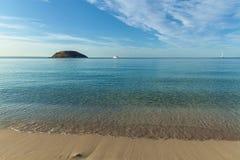 Palma de Mallorca, Espagne, plage photo stock