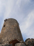 Palma de mallorca : formentor tower Royalty Free Stock Image