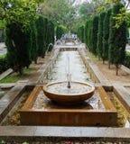 Palma de Mallorca. Fountains in Palma de Mallorca, Spain Stock Image