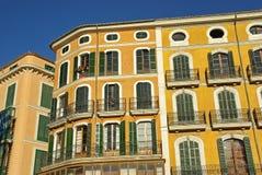 Palma de Mallorca-gebouwen Stock Foto