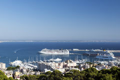 Palma de Mallorca general view Royalty Free Stock Photos