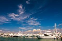 Palma de Mallorca Harbor Fotografia Stock