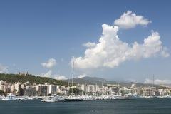 Palma de Mallorca Harbor Fotos de archivo libres de regalías