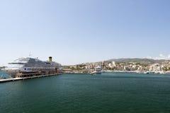 Palma de Mallorca harbor Stock Image