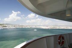 Palma de Mallorca harbor Stock Images