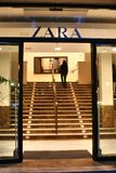 Palma de Mallorca, Hiszpania, 06 11 2008, Sklepowy Zara Obrazy Stock