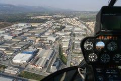 Palma de Mallorca industrial area aerial view Royalty Free Stock Image