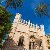 Palma de Mallorca Lonja Majorca gothic Stock Photography