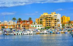 Palma de Mallorca Majorca ö, Spanien royaltyfria foton