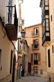 Palma de Mallorca Old Town-straat stock foto's