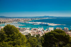 Palma de Mallorca port Stock Photo