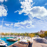 Palma de Mallorca port marina in Majorca Balearic Stock Image