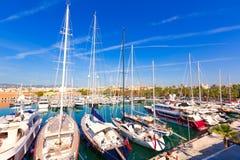 Palma de Mallorca port marina in Majorca Balearic. Island of Spain Stock Images