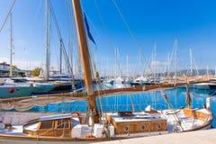 Palma de Mallorca port marina in Majorca Balearic Royalty Free Stock Photography