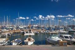 Palma de Mallorca port marina in Majorca Royalty Free Stock Photo