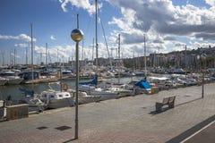 Palma de Mallorca port marina in Majorca Royalty Free Stock Images