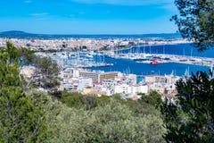 Palma de Mallorca port. Photograph of Palma de Mallorca port, Mallorca, Spain stock photography