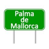 Palma de Mallorca road sign. Stock Photography