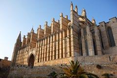 Palma de Mallorca. `s beautiful cathedral Stock Photos