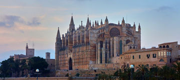 Palma de Mallorca. `s beautiful cathedral Stock Photo