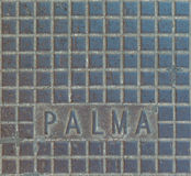 Palma de Mallorca sewer system. Sewer system of the city of Palma de Mallorca on Mallorca island Royalty Free Stock Photos