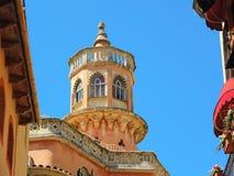 Palma de Mallorca, Spagna Le costruzioni e le case storiche nel vecchio centro urbano Immagini Stock