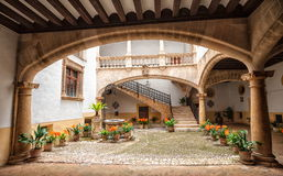 Palma de Mallorca Spanien Arkivfoto