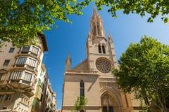 Palma de Mallorca Spanien royaltyfri fotografi