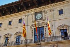 Palma de Mallorca Town Hall Royalty-vrije Stock Afbeeldingen