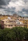 Palma de Mallorca vor einem Sturm Stockfotografie