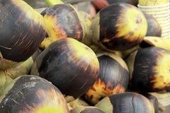 Palma dello zucchero di palma di Palmira dell'asiatico nel mercato Immagine Stock Libera da Diritti