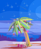 Palma di Natale illustrazione di stock