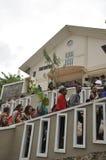 Palma domingo em Batam, Indonésia imagem de stock royalty free