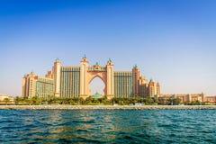 Palma Dubai de Atlantis Foto de Stock